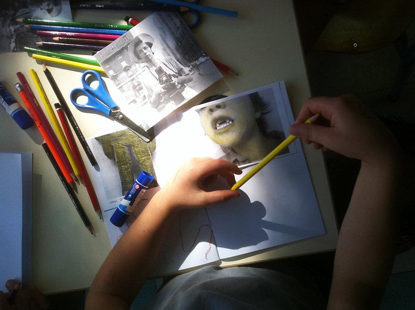 Autoportrait, Ecole de Vic-Le-Fesc(30)